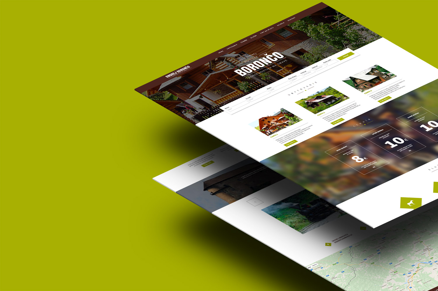 Boronco, web design image