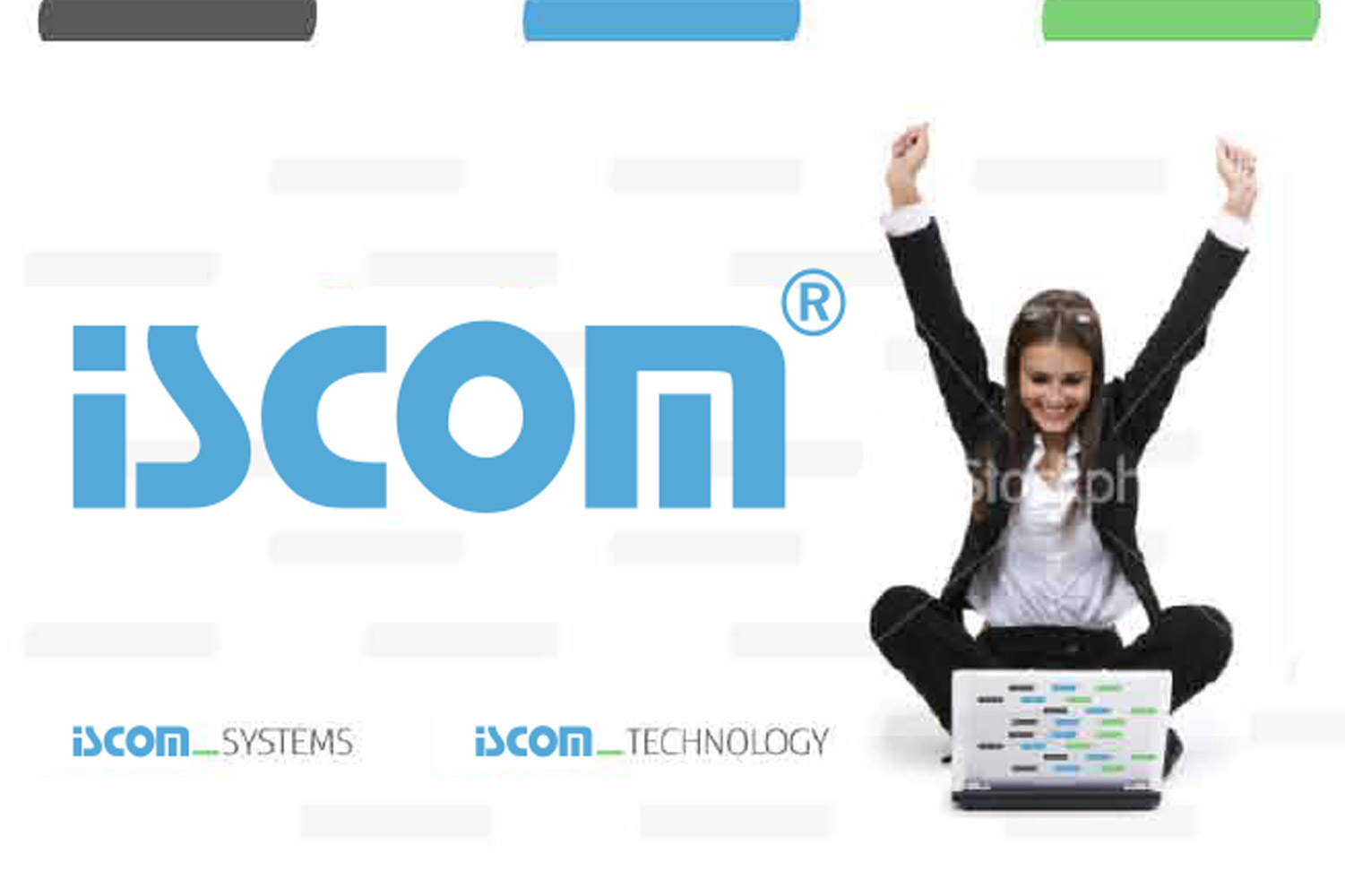 Iscom, Corporate Identity image