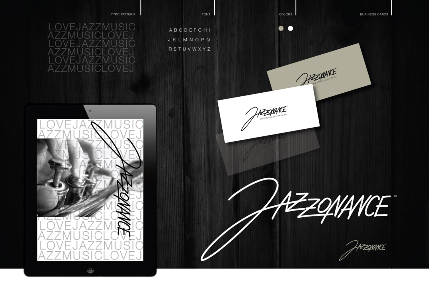 Jazzonance, Corporate Identity image