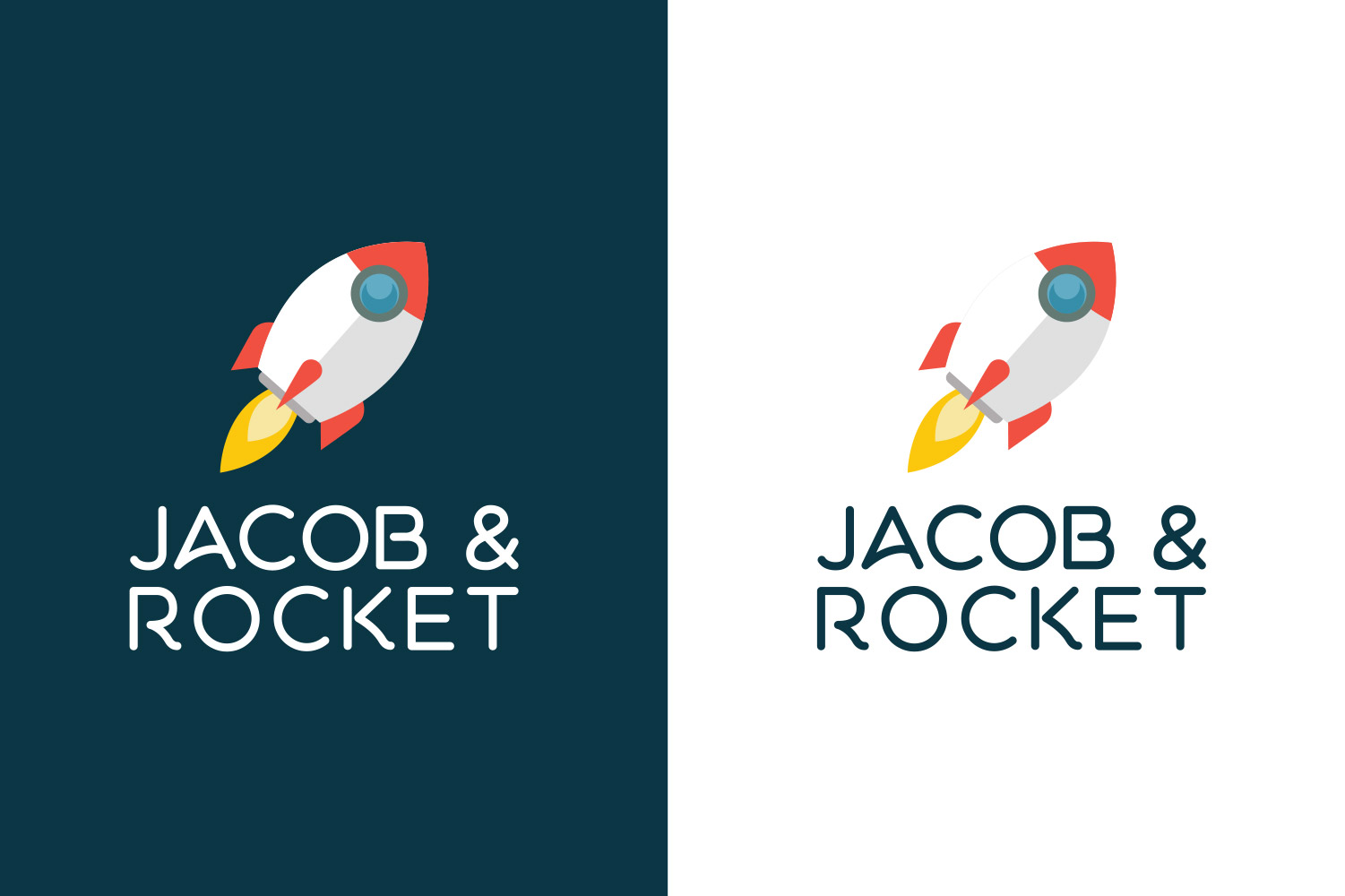 Jacob Rocket, logo design image