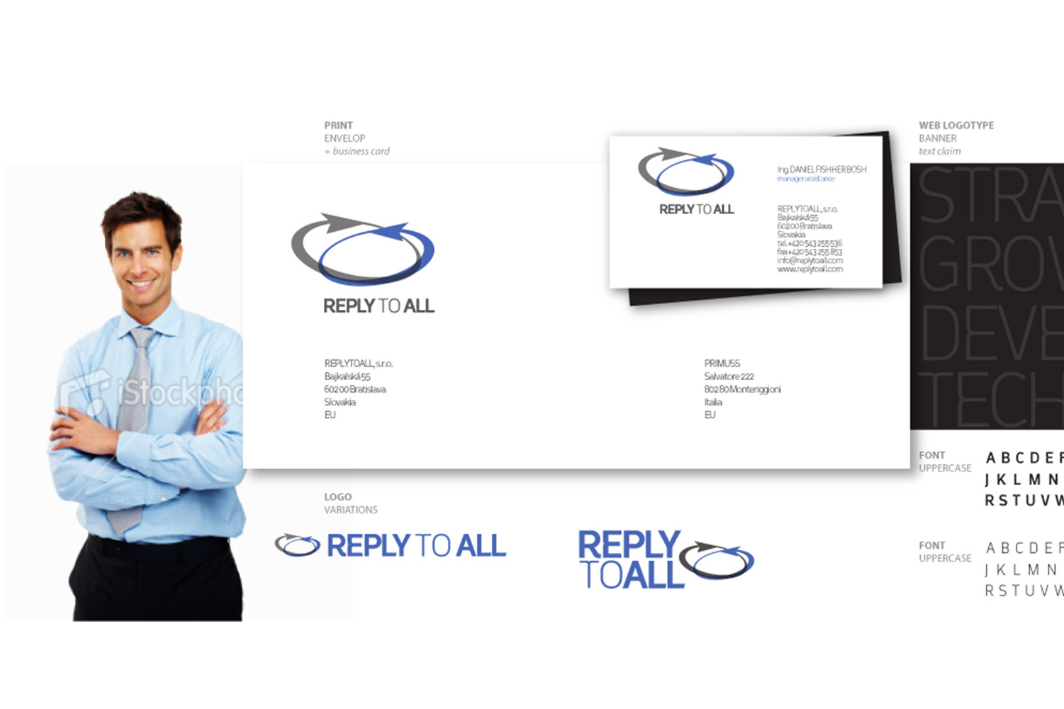 Reply to all, Corporate Identity image