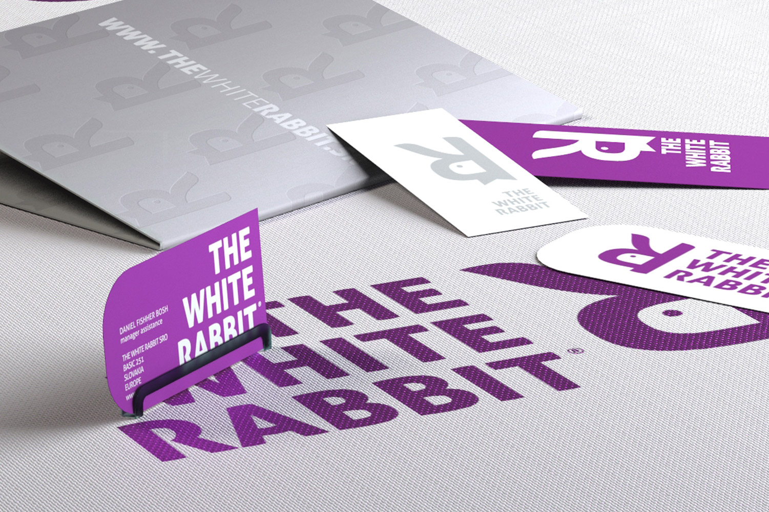 White Rabbit, Corporate Identity image